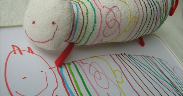 This company will craft a real toy from a child's drawing. Some