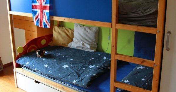 chaosfreies kinderzimmer ikea kura hack interieur pinterest kinderzimmer kinderbetten. Black Bedroom Furniture Sets. Home Design Ideas