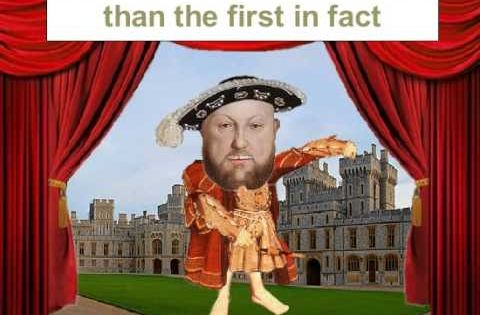 an introduction to the life of king henry viii The school has a proud history dating back to 1545 when king henry viii instructed  larkin spent his working life as librarian at  academic introduction art.