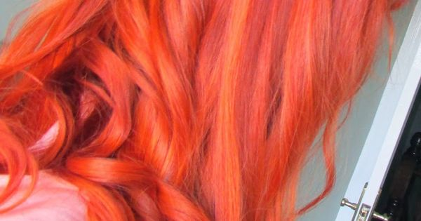 L Oreal Hicolor Highlights In Copper Overlaid With Revlon