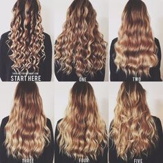 5 Ways To Wand Waves Hair Styles Curly Hair Styles Hair Tutorial