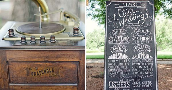 chalk boards!