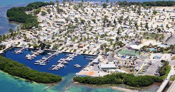 Sunshine Key RV Resort in the Florida Keys. This is where ...