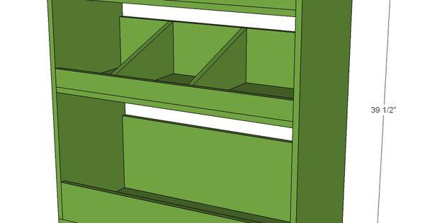 Build a General Store Bin Bookshelf | Free and Easy DIY