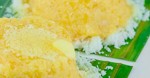 Cassava Cake With Shredded Coconut Recipe — Dishmaps