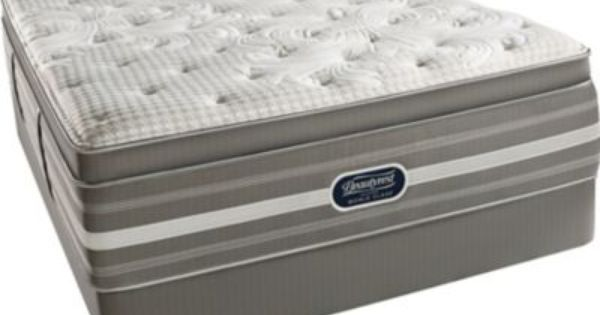 Queen Simmons Beautyrest Platinum Tillingham Iii Plush Pillow Top