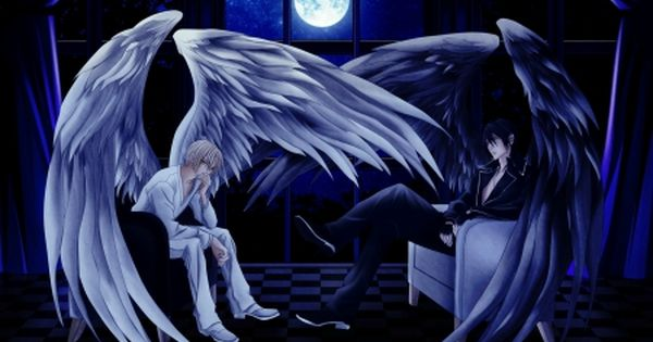 Boy Angel Pics All Of My Angels Fantasy Angel Wings Moon Night Boy Anime Anime Backgrounds Wallpapers Cool Anime Wallpapers Angel Wallpaper