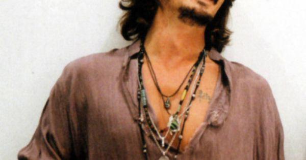 Johnny Depp. Bohemian style.