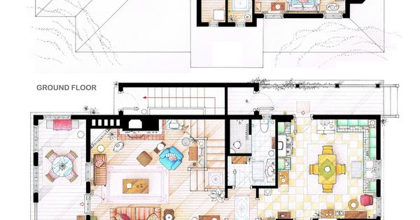 These Are The Floorplans Of Lorelai & Rory Gilmore's House