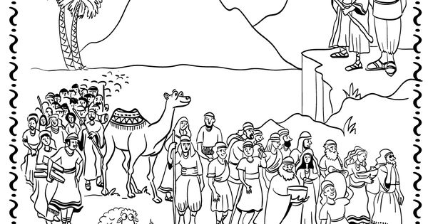 parshat shemot coloring pages - photo#15