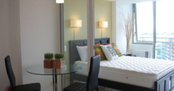 Studio Unit Design For Urban Resort Living Condo Interior