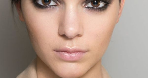 The best tip we picked up backstage for getting perfect smoky eyes