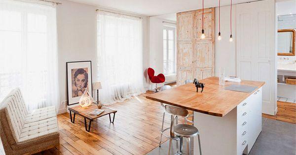Een kleine ruimte groots ingericht small living pinterest interiors - Outs kleine ruimte ...