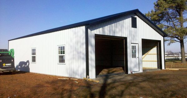 30x30x10 With 30x12 Gable Overhang Garage Www