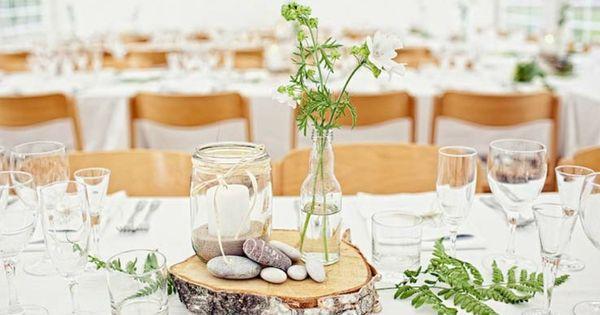 ... champêtre – atmosphère naturelle  Mariage, Déco et Tables