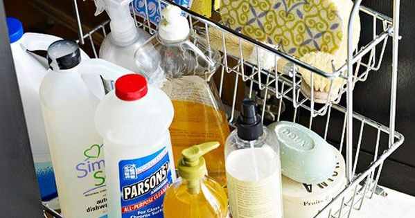 Organize this under the sink diy kitchen storage for 34 insanely smart diy kitchen storage ideas