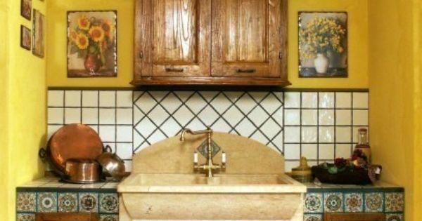 Parete Gialla Cucina : ... le pareti della cucina - Parete gialla ...