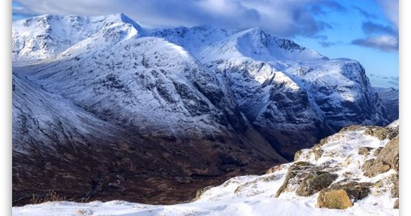 The Lost Valley Scotland Mountains Winter Wallpaper Scotland Wallpaper Mountain Wallpaper Mountain Images
