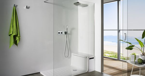Shower Cubicle With Seat Google Search Bathrooms