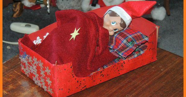 DIY Elf on the Shelf Bed   Kid Blogger Network Activities ...