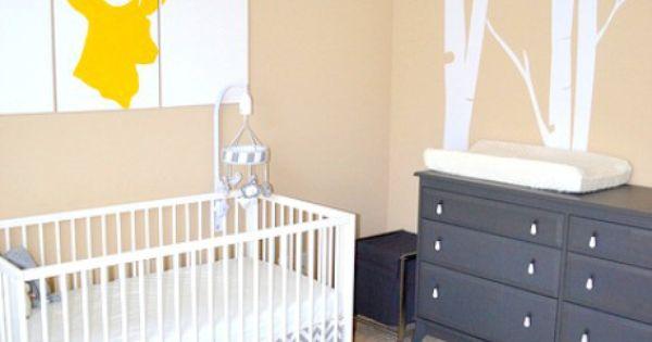 Custom Nursery Art by Kimberly: Rustic Nursery Ideas - Garrett likes picture
