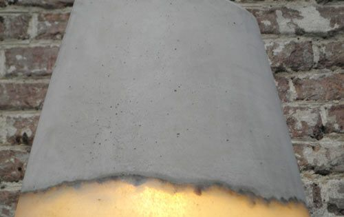 Výsledek obrázku pro concrete lamps
