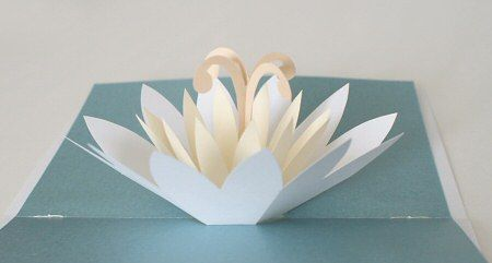 Planetjune By June Gilbank Lotus Card Flower Cards Diy Pop Up Cards Pop Up Flower Cards