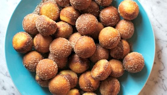 These Easy Nutella Filled Donut Holes Are Made With Just