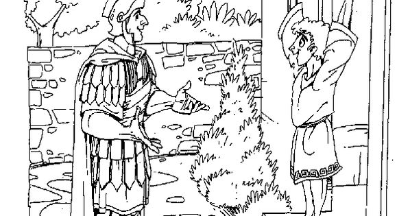 matthew 8 coloring pages - photo#7