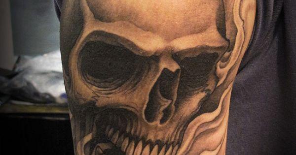 skull tattoos for men skull tattoo picture 6 tattoo training sites recipes pinterest. Black Bedroom Furniture Sets. Home Design Ideas