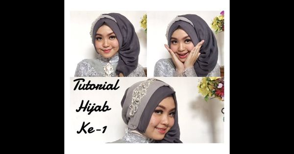 Tutorial Jilbab Pashmina Glitter Untuk Pesta Di 2020 Gaya Hijab