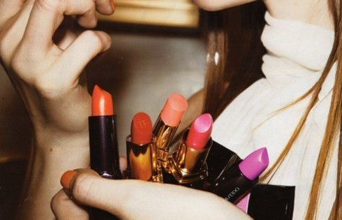 bright lip beauty lipstick cosmetics makeup