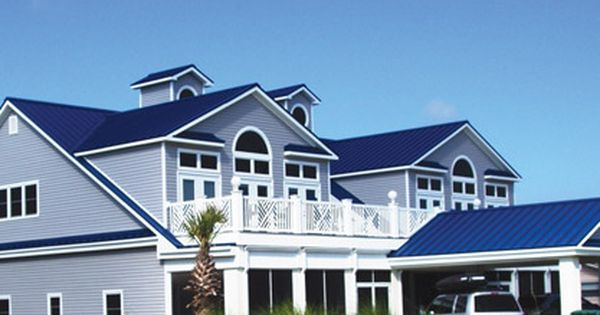 Metal Roofing Supply Metal Roofing Materials Corpus Christi Tx Metal Roof Houses Tin Roof House Blue Roof