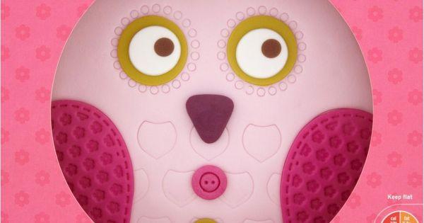 Owl Birthday Cake Sainsbury