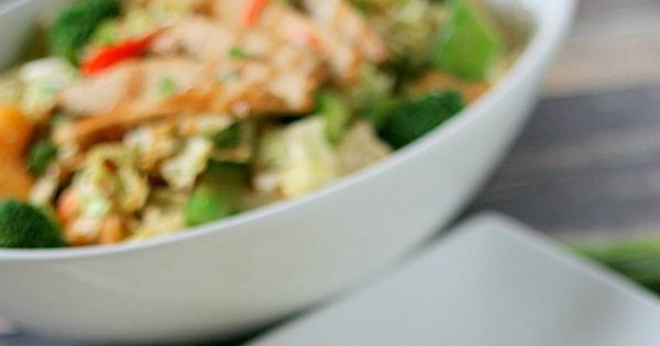 Easy Thai Chicken Salad Recipe