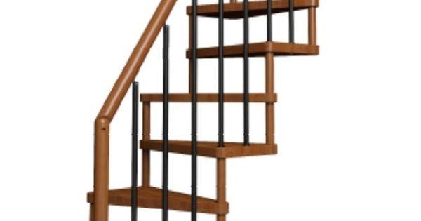 Escalier gain de place deco pinterest lieux - Ruimtebesparende mezzanine ...