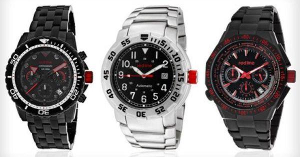 Groupon 89 Para Caballeros Reloj Red Line Envio Gratis Ebay