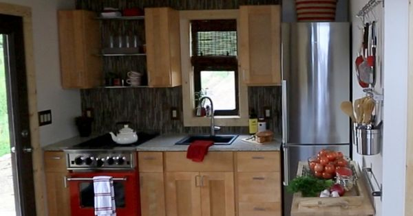Needs more counter space, but otherwise, I love it. Colorado tiny house