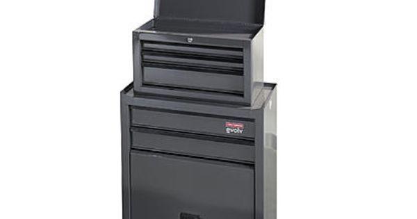 Evolv Homeowner 5 Drawer Tool Center Platinum Garage Storage Cabinets Craftsman Tools Chest 5 Drawer Storage
