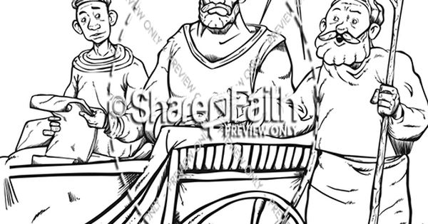 coloring pages about acts 8 - photo#17