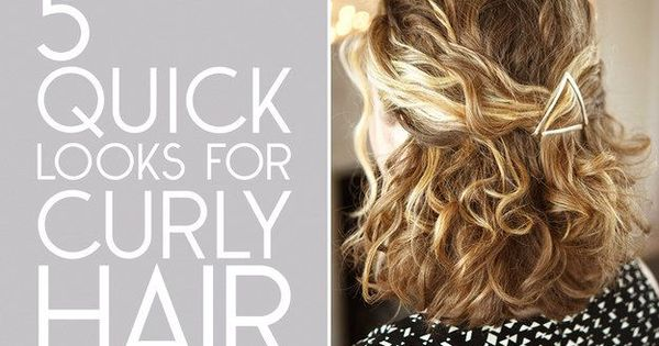 best ways to style curly hair fashion and hair style 10 easy ways to get awesome 3750