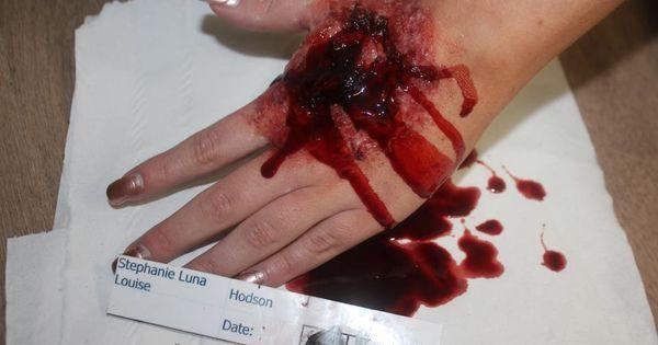 1st practice exit bullet wound | Wounds Makeup | Pinterest ...