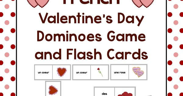 valentine's day flash cards download