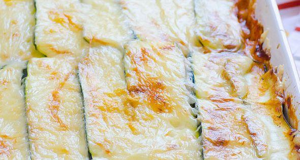 zucchini lasagna rezept essen gesund und gesunde rezepte. Black Bedroom Furniture Sets. Home Design Ideas
