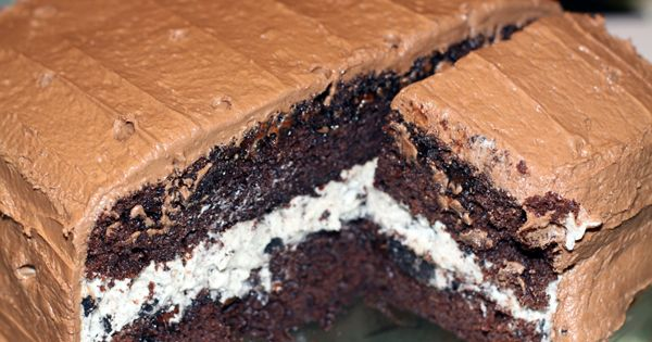 Chocolate Oreo Cream Birthday Cake! RECIPE