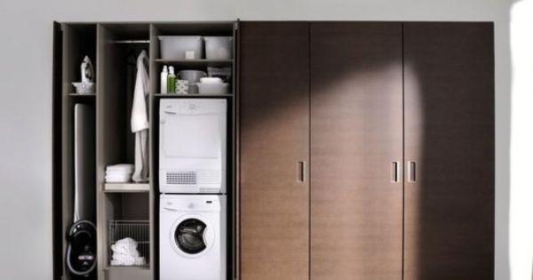 Kastenwand Speicherideen Einbaukuche Hauswirtschaftsraum