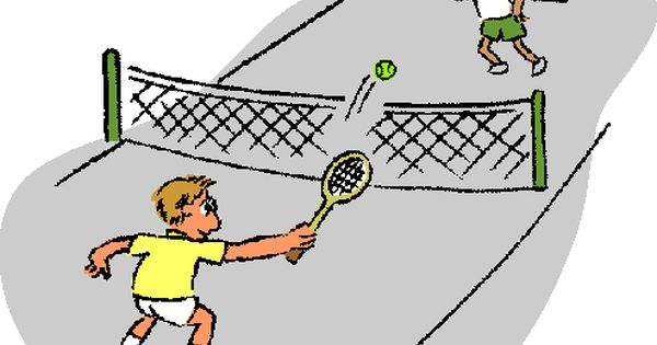 Free Tennis Clipart Pictures - Clipartix | Welcome Bag | Pinterest ...