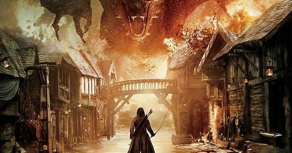 The Hobbit: The Battle of the Five Armies | This movie poster