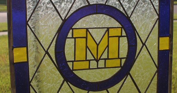 University Of Michigan Stained Glass Window By Glassbygary
