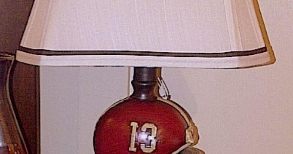 Football Helmet Table Lamp : Light up your life with an alabama crimson tide lamp